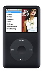 Apple iPod classic 80GB Black - 6th Generation