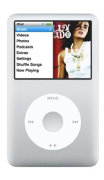 Apple iPod classic 80GB Silver - 6th Generation