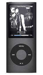 Apple iPod nano 16GB Black - 4th Generation