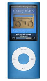 Apple iPod nano 16GB Blue - 4th Generation