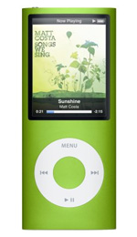 Apple iPod nano 16GB Green - 4th Generation