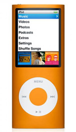 Apple iPod nano 16GB Orange - 4th Generation
