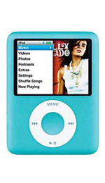Apple iPod nano 8GB Blue - 3rd Generation