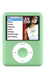 Apple iPod nano 8GB Green - 3rd Generation