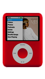 Apple iPod Nano 8GB Red - 3rd Generation