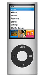 Apple iPod nano 8GB Silver - 4th Generation