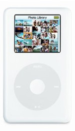 Apple iPod Photo 60GB White - 4th Generation
