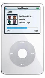 Apple iPod Video 30GB White - 5.5 Generation