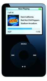 Apple iPod Video 60GB Black - 5th Generation