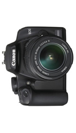 Canon EOS 1000D and 18-55mm Lens