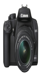 Canon EOS 1000D and three lens kit